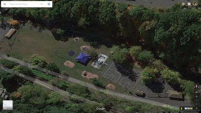 Google Maps Top Side View