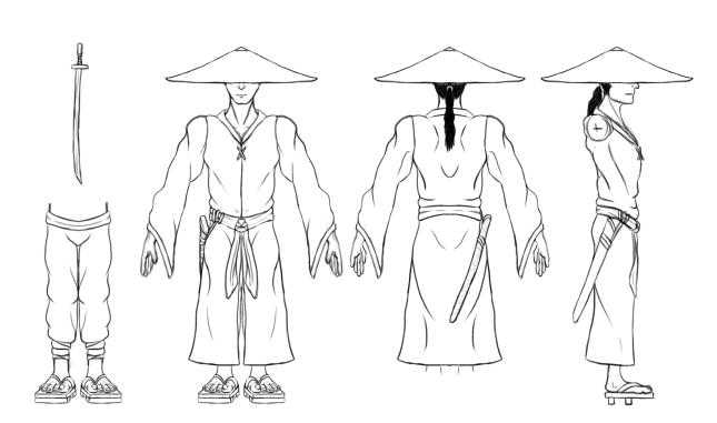Ronin Model Sheet